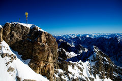 Zugspitze Immagine Stock Libera da Diritti