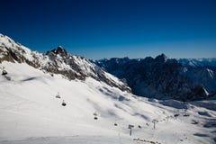 Zugspitze Fotografie Stock