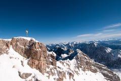 Zugspitze, Alemania Imágenes de archivo libres de regalías