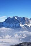 Zugspitze, Allemagne Image stock