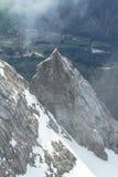 Zugspitze, alpi. Immagini Stock Libere da Diritti