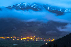Zugspitze, alpi. Immagine Stock Libera da Diritti