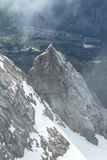 Zugspitze, Alps. Royalty Free Stock Images