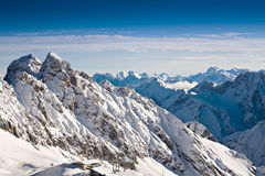 Zugspitze area Royalty Free Stock Photos