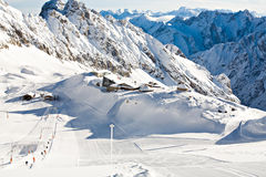 Zugspitze area Stock Images