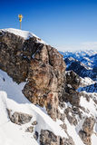 Zugspitze. Beautiful Blue Sky at Zugspitze, Germany Royalty Free Stock Images