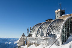 Zugspitze - dessus de l'Allemagne Photos stock