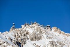 Zugspitze - dessus de l'Allemagne Photo stock
