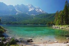 Zugspitze, Deutschland Stockfotografie
