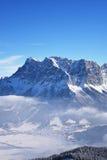 Zugspitze, Duitsland Stock Afbeelding