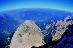Zugspitze in Germania Fotografia Stock Libera da Diritti