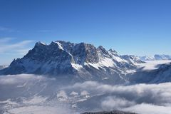 Zugspitze, Germany Royalty Free Stock Photo