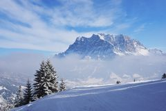 Zugspitze, Germany Royalty Free Stock Image