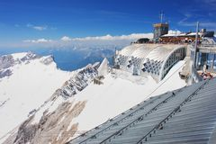 Zugspitze, Germany Stock Image