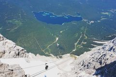 Zugspitze, Germany Royalty Free Stock Photography
