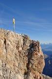 Zugspitze Gipfel Lizenzfreies Stockbild