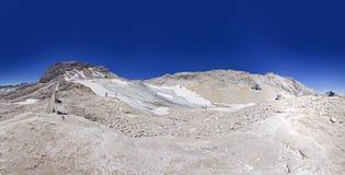 Zugspitze Glacier Royalty Free Stock Photos