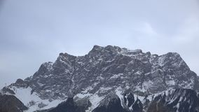 Zugspitze i vinter lager videofilmer