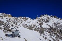 Zugspitze, montagna del ` s della Germania più alta Fotografie Stock