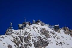 Zugspitze, montagna del ` s della Germania più alta Immagini Stock