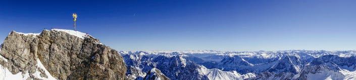 Zugspitze, montagna del ` s della Germania più alta Immagine Stock Libera da Diritti