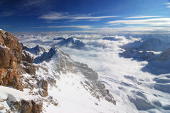 Zugspitze Mountain Royalty Free Stock Photos