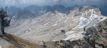 Zugspitze mountain in Germany Stock Image