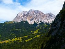 Zugspitze Mountain Royalty Free Stock Image