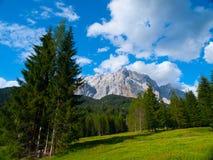 Zugspitze Mountain Stock Photos