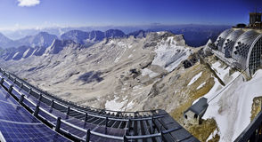 Zugspitze Pannorama Image stock
