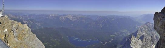 Zugspitze Pannorama photo libre de droits