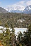 Zugspitze - più alta montagna in Germania Fotografia Stock Libera da Diritti