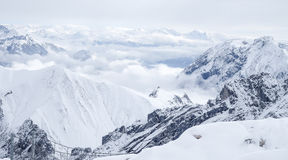 Zugspitze-Reisefoto - Germany's-höchste Erhebung Lizenzfreies Stockfoto