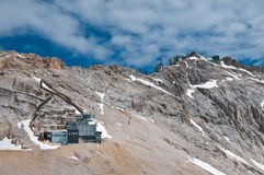 Zugspitze - Schneefernerhaus royalty free stock photos