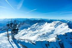 Zugspitze skidar semesterorten Royaltyfri Bild