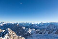 Zugspitze - Top of Germany Stock Photo