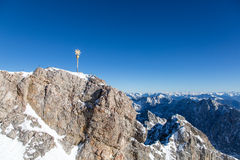 Zugspitze - Top of Germany Stock Photography