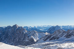Zugspitze - Top of Germany Royalty Free Stock Photography