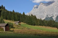 Zugspitze, Tyrol, Austria Royalty Free Stock Photo