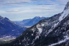 Zugspitze view Stock Photo