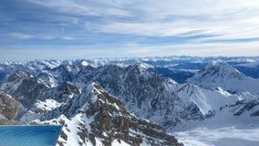 Zugspitze wierzchołek Niemcy Zdjęcia Royalty Free