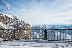 Zugspitze Royalty Free Stock Photo