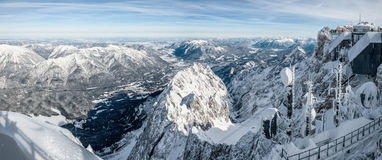Zugspitze Royalty Free Stock Photo