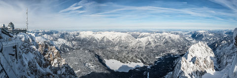 Zugspitze Royalty Free Stock Image