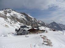 Zugspitze - Zugspitzplatt Stockfoto