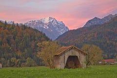 Zugspitzmorgen Stock Image