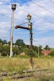 Zugwasserpumpe Stockfoto