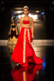 Zuhal Moda, Balkanlarin Buyulu Atesi Catwalk Royalty Free Stock Images