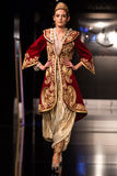 Zuhal Moda, Balkanlarin Buyulu Atesi Catwalk Royalty Free Stock Photo