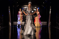 Zuhal Moda, Balkanlarin Buyulu Atesi Catwalk Royalty Free Stock Photos